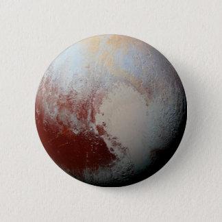 NASAニュー・ホライズンズの2015年の写真による小型惑星プルート 5.7CM 丸型バッジ