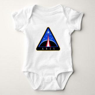 NASA Aresロケットのロゴ ベビーボディスーツ