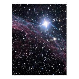 NASA ESAのベールの星雲 ポストカード
