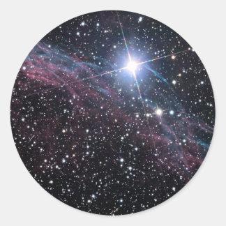 NASA ESAのベールの星雲 ラウンドシール