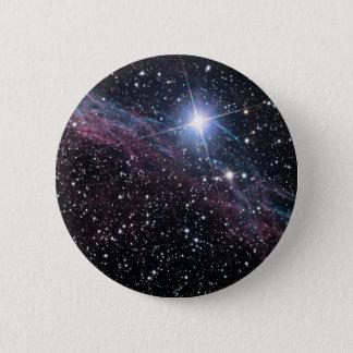 NASA ESAのベールの星雲 5.7CM 丸型バッジ