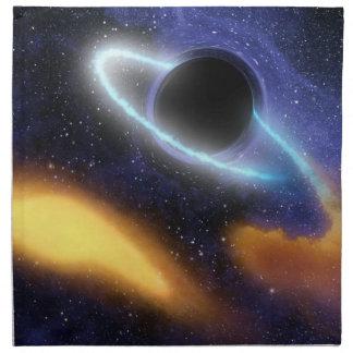 NASAsのブラックホールPIA01884 ナプキンクロス