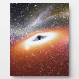 NASAsの大きいブラックホール フォトプラーク
