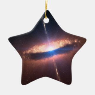 NASAs SIG10-012ディスク銀河系 セラミックオーナメント