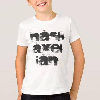 Nashのアクセルの名前 Tシャツ
