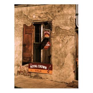 Natchezの店、壁および窓 ポストカード