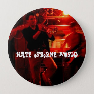 Nate Osborne音楽 10.2cm 丸型バッジ