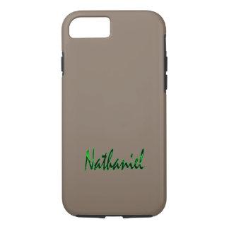 Nathanielは堅いiPhoneの場合をカスタマイズ iPhone 8/7ケース