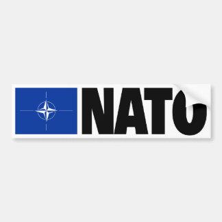 NATOの旗 バンパーステッカー