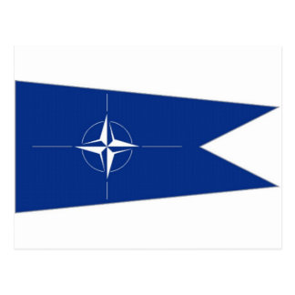 NATOの旗 ポストカード