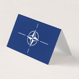 NATOの旗 名刺
