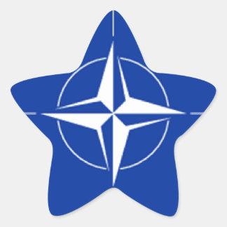 NATOの旗 星シール
