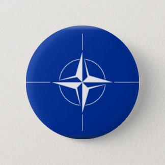 NATOの旗 缶バッジ