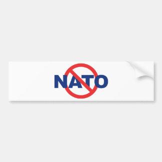 NATO無し バンパーステッカー