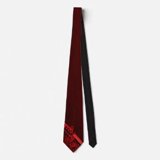 Natori-ryuの深紅色Katana ネクタイ