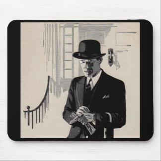 natty 20年代の氏シャープによって服を着せられる人 マウスパッド