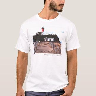 Nausetの軽いケープコッド、MA Tシャツ