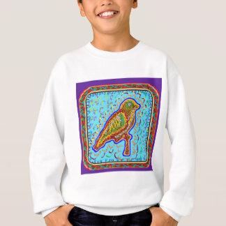 Naveen: さえずりの季節的な鳥 スウェットシャツ