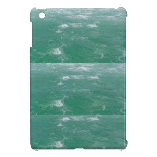 NAVIN JOSHIによるエレガントな深海のグリーン・ウェーブのプリント iPad MINI CASE