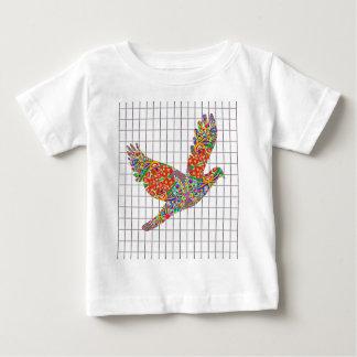Navin Joshiの芸術家による幸運な天使の鳥の質 ベビーTシャツ