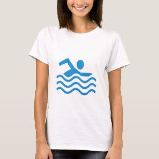 navinJOSHIの水泳の成功の水泳の泳ぐ人101 Tシャツ