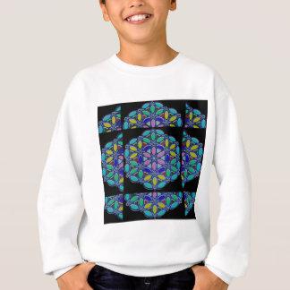 NavinJoshi著美しく青い宝石のデザインのワイシャツ スウェットシャツ