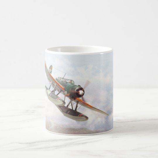 """Navy Type Zero Reconnaissance Seaplane""mug コーヒーマグカップ"