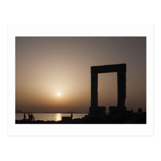 Naxos、ギリシャ ポストカード