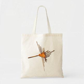 Nazcaのハチドリの錆の戦闘状況表示板 トートバッグ