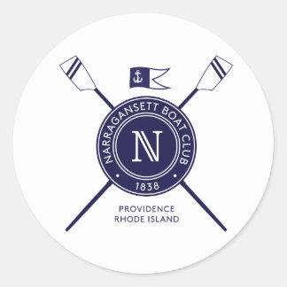 NBCの円形のバンパーステッカー ラウンドシール