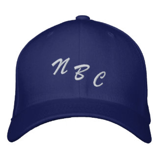 NBC 刺繍入りキャップ