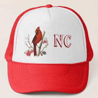 NCの州の赤い鳥の帽子 キャップ
