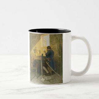 NC WyethによるClunyのおりのカード ツートーンマグカップ