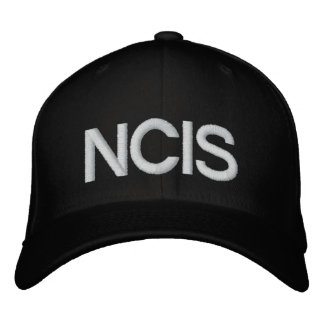 NCIS 刺繍入りキャップ