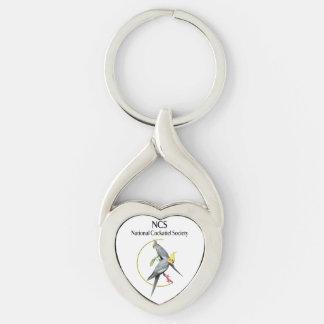 NCS Twisted Heart Key Chain キーホルダー