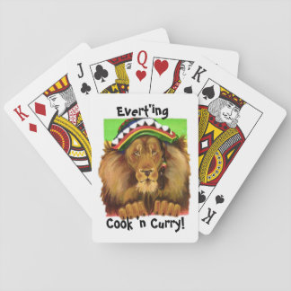 N'CURRYカード、iの芸術およびデザインを調理して下さい トランプ