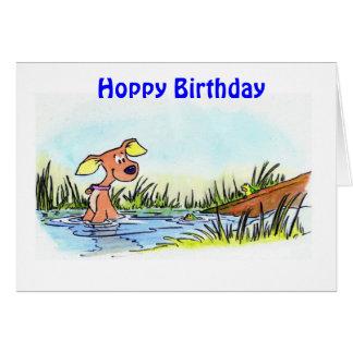 ND1、ホップの豊富な誕生日 カード
