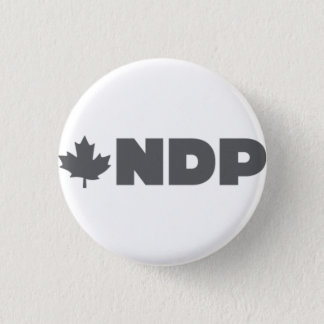NDPの代わりのロゴ 缶バッジ