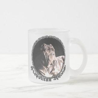 Neapolitanマスティフによって曇らされるマグ フロストグラスマグカップ