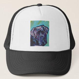 neapolitanマスティフ犬のポップアート キャップ
