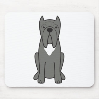 Neapolitanマスティフ犬の漫画 マウスパッド