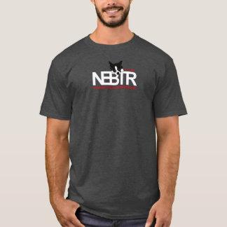 NEBTRの暗いワイシャツのロゴ Tシャツ