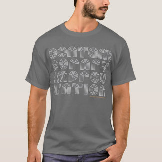 NECのコンテンポラリーな即興のTシャツ(暗い) Tシャツ