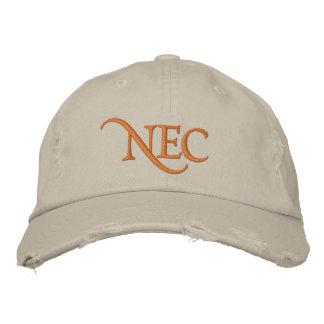 NECの動揺してなチノによって刺繍される帽子 刺繍入りキャップ