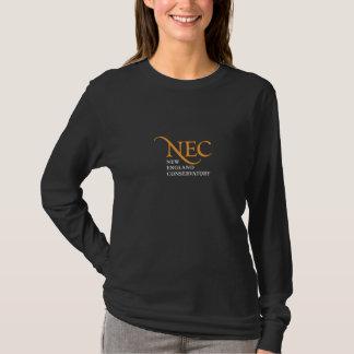 NECの暗い長袖のTシャツ(女性) Tシャツ