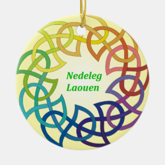 Nedeleg Laouen -ブルターニュのクリスマスのオーナメント セラミックオーナメント
