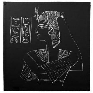 Nefertariの白いナプキン ナプキンクロス