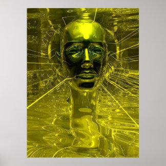Nefertitiのマスク ポスター