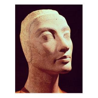 Nefertitiの未完成の頭部、新しい王国 ポストカード