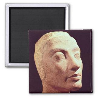 Nefertitiの未完成の頭部、新しい王国 マグネット